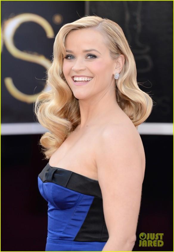 Cabelo da Reese Witherspoon - Oscar 2013
