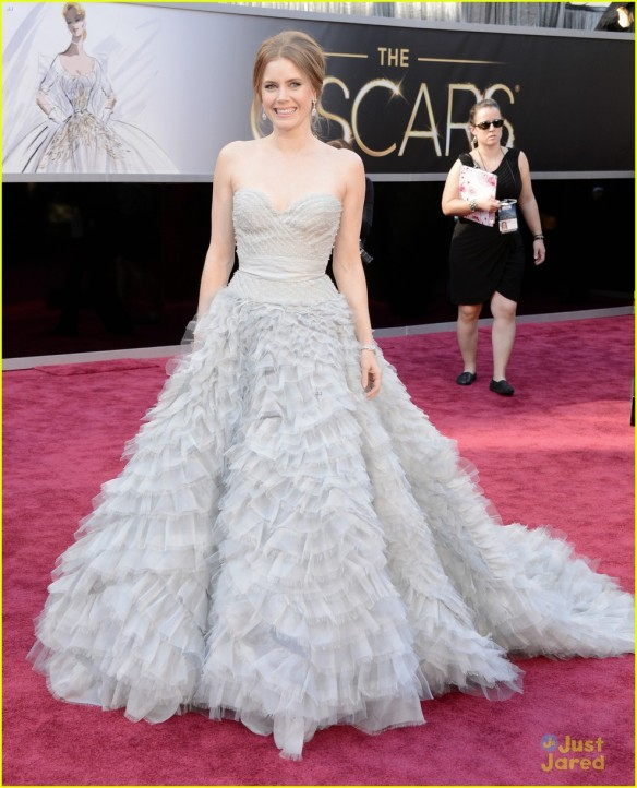 Look da Amy Adams - Oscar 2013