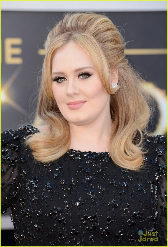 Maquiagem da Adele - Oscar 2013