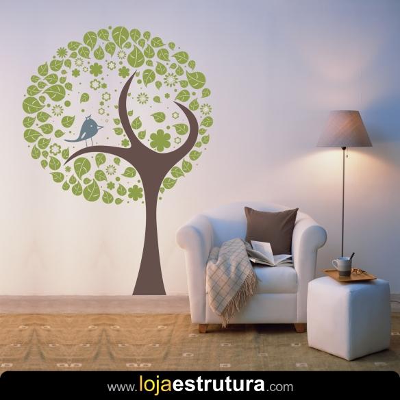 Adesivo de parede árvore 14