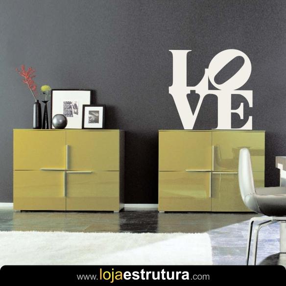 Adesivo de parede Love 2